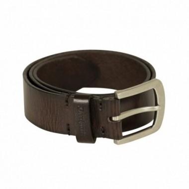 Opasok Deerhunter Leather Belt Dark Brown