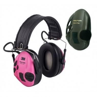 Chránič sluchu Peltor 3M SportTac RE Pink