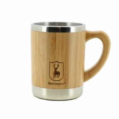 Termohrnček Deerhunter Bamboo Thermo Cup w. Handle