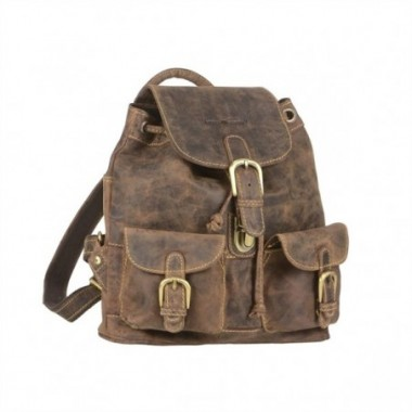 Kožený ruksak Greenburry Malý