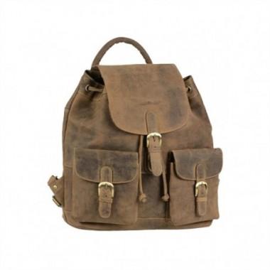 Kožený ruksak Greenburry Veľký