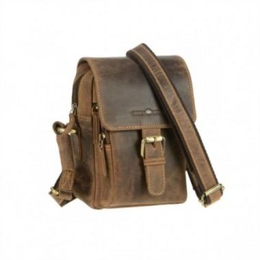 Kožená taška na rameno Greenburry