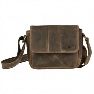 Kožená taška na rameno Greenburry Vintage