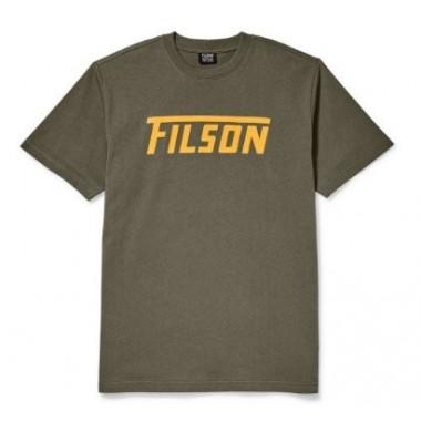 Tričko Filson Outfitter Green