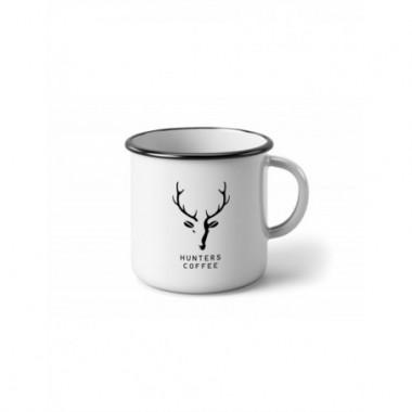 Plechový Hrnček Hunters Coffee