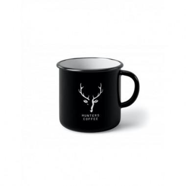 Plechový Hrnček Hunters Coffee Black