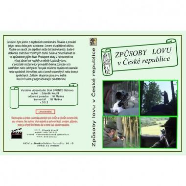 DVD Způsoby lovu v České republice