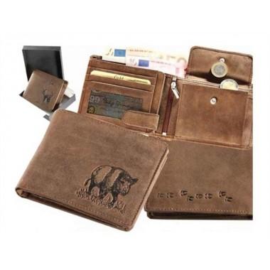 Kožená peňaženka Diviak nízka