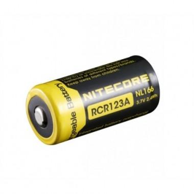 RCR123A Li-ion battery 650mAh