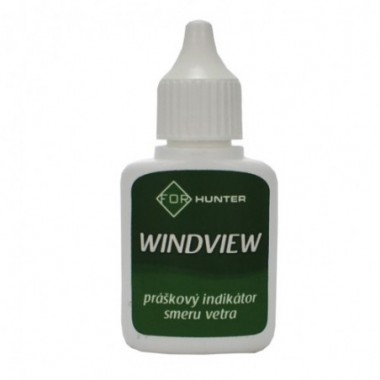 Práškový indikátor smeru vetra WINDVIEW
