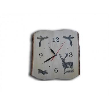 Drevené nástenné hodiny- Daniel
