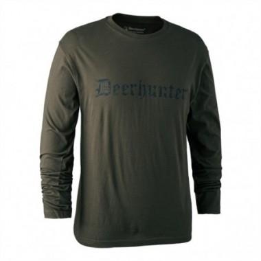 Tričko s dlhým rukávom Deerhunter Logo